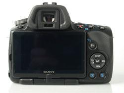Sony Alpha A55 back