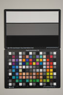 Sony Alpha A55 Test chart ISO400