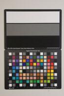 Sony Alpha A55 Test chart ISO6400