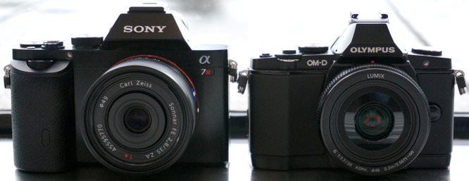 Sony Alpha A7 A7R Vs Olympus OMD E M5 (1) (Custom)