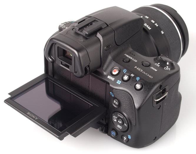 Sony Alpha A57 Body And Lens