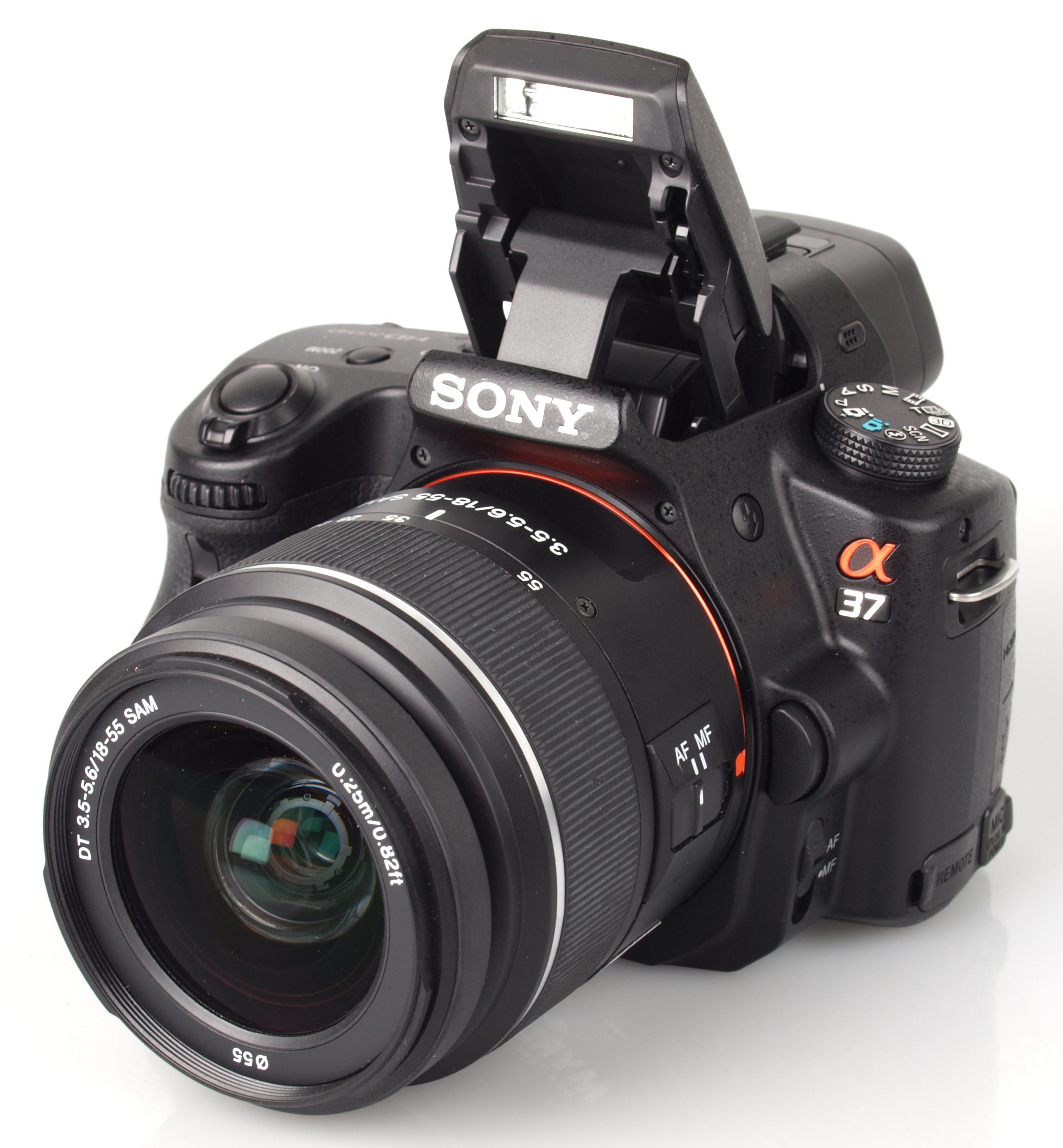 Camera Sony Dslr Cameras Reviews sony alpha a37 dslr slt review body and lens