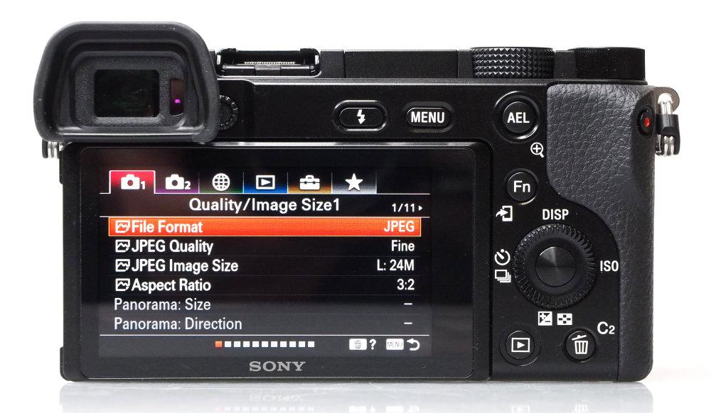 Sony Alpha A6100 Black (2)