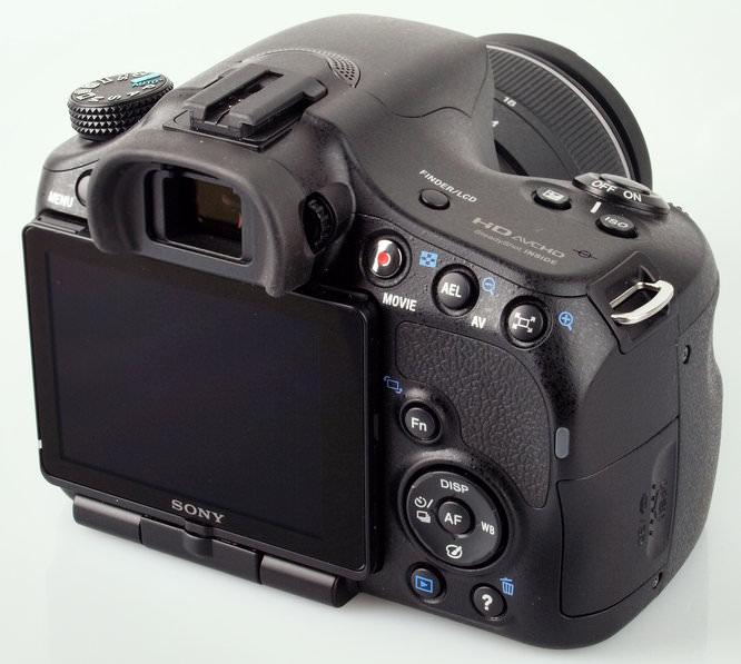 Sony Alpha SLT-A65 Screen