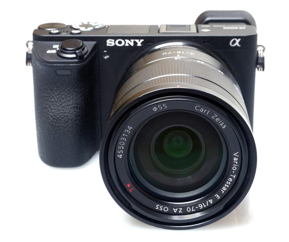 Sony Alpha A6500 With Lens