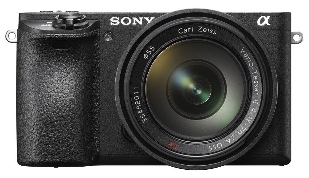 Sony Alpha A6500 Front Hi Res