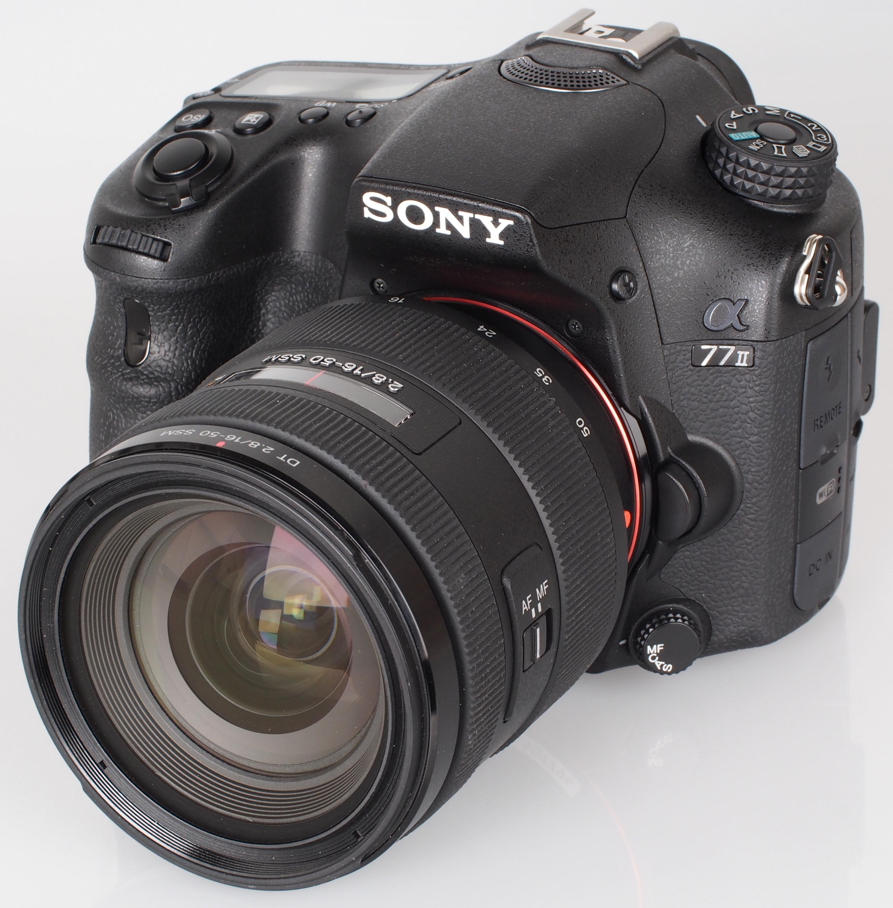 Sony Alpha A77 II SLT DSLR Review