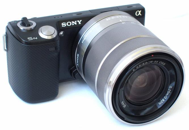 Sony NEX-5N Angled
