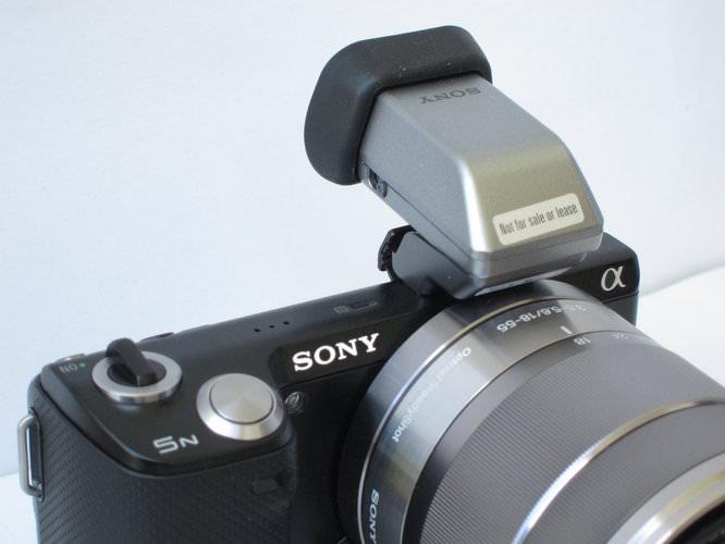 Sony NEX-5N Viewfinder