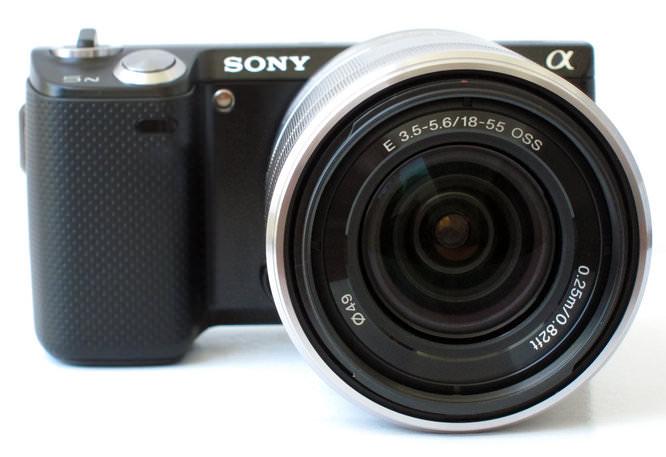Sony NEX-5N Front