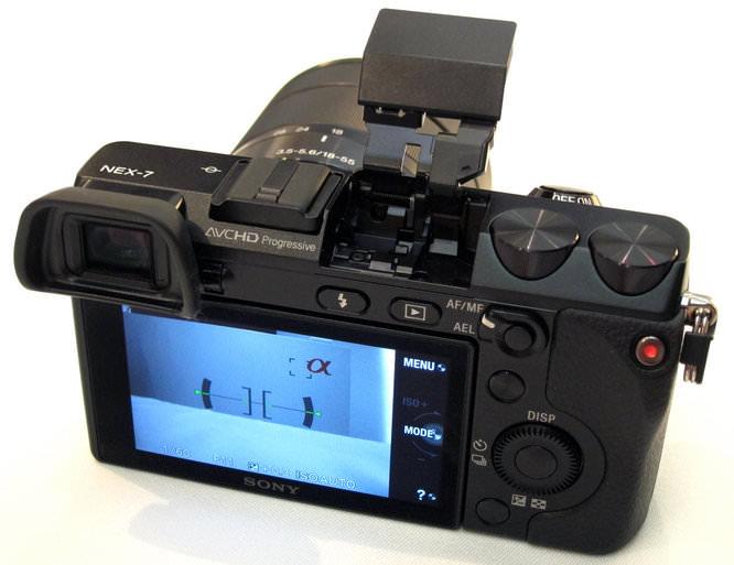 Sony NEX-7 Back Screen