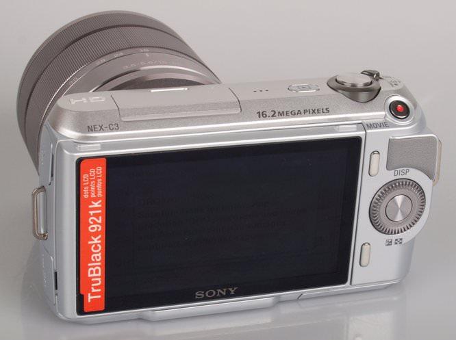 Sony NEX-C3 Back