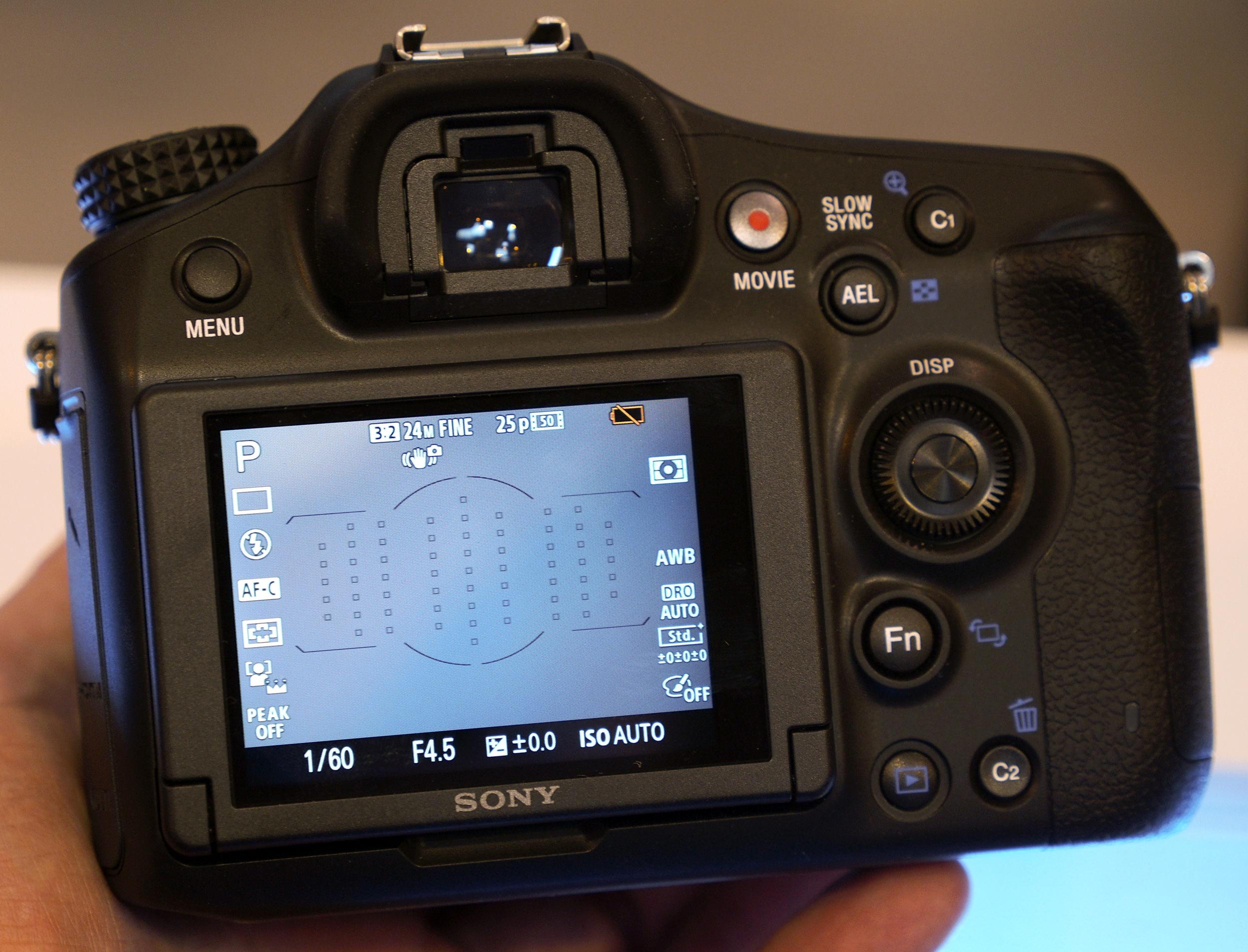 sony alpha slt a68 review rh ephotozine com sony a57 manual mode aperture Sony Alpha SLT-A57 Review