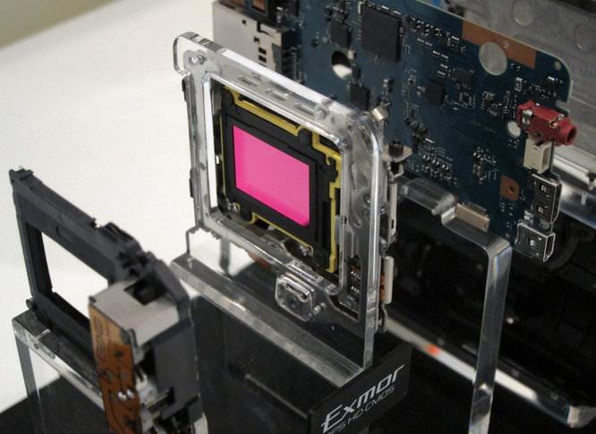 Sony Alpha A77 Sensor