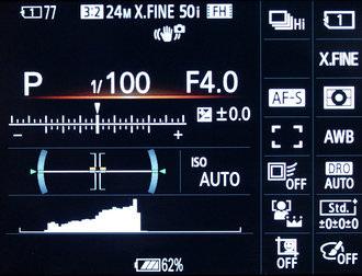 Sony A99 Rear Display