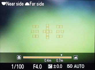 Sony A99 Setting Af Range