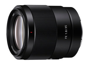 Sony Announce 35mm f/1.8 Lightweight Prime
