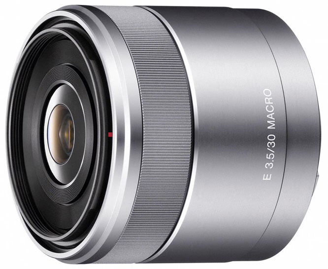 Sony NEX 30mm Macro Lens