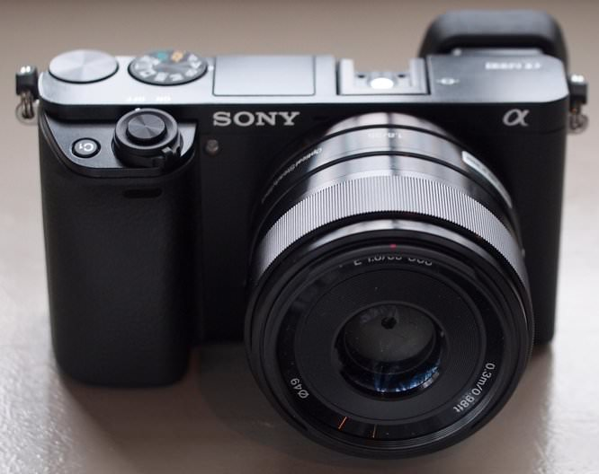 Sony Alpha A6000 Black (15) (Custom)