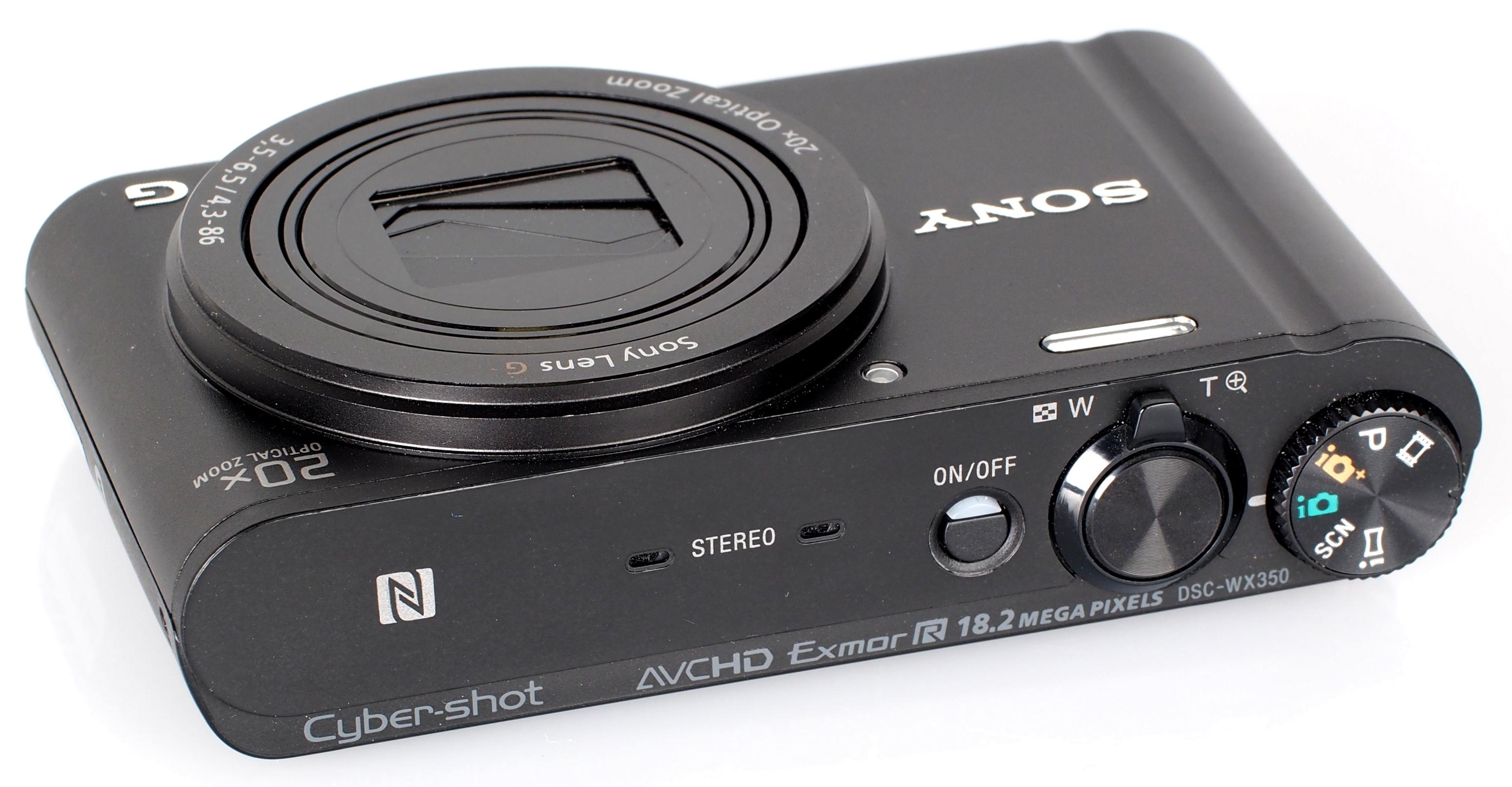 Sony Cyber Shot DSC WX350 Black (5)