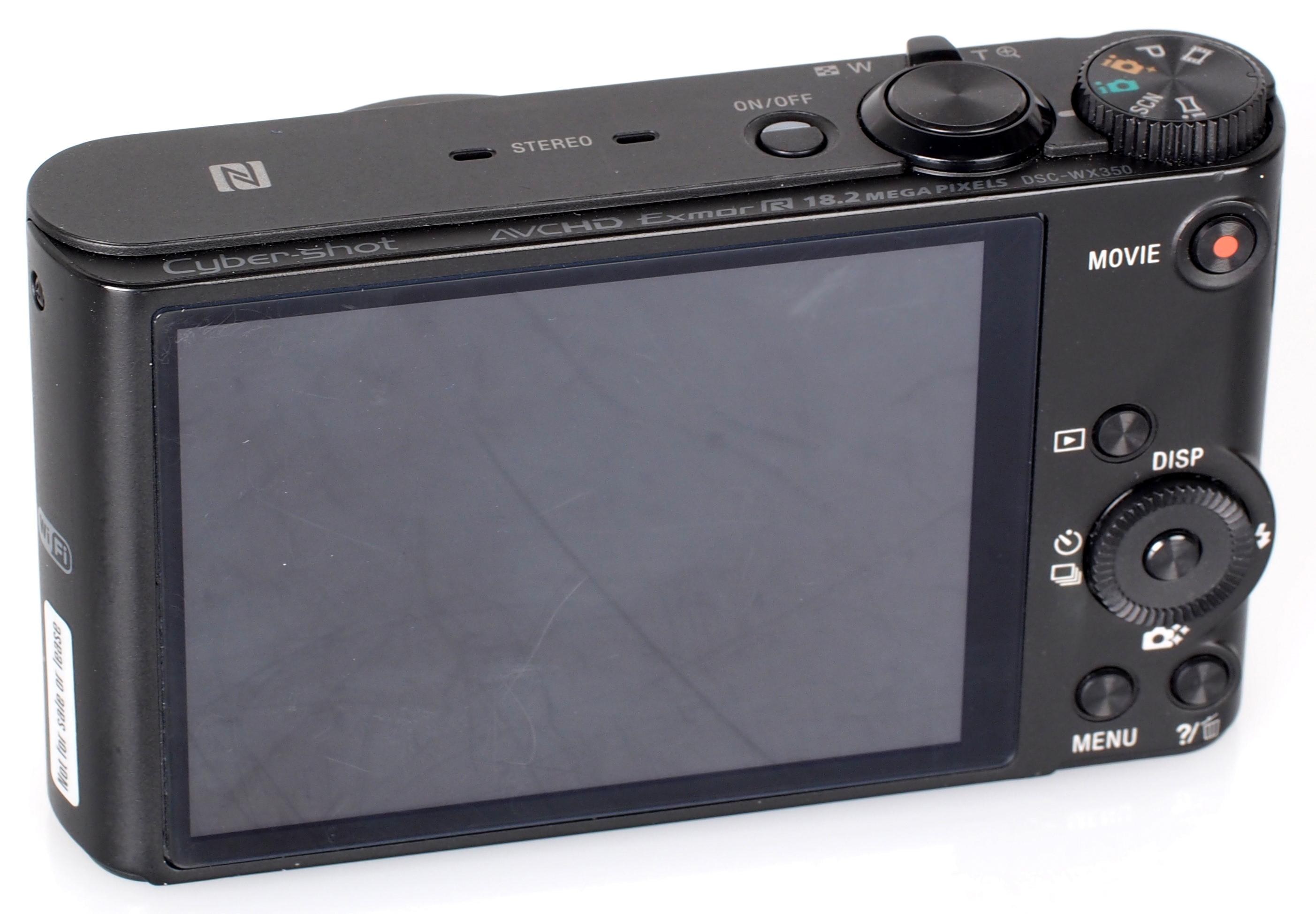 Sony Cyber Shot DSC WX350 Black (6)