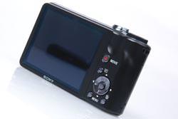 Sony Cyber-shot HX5 rear view