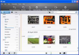 Sony Cyber-shot HX5 screengrab of PMB software