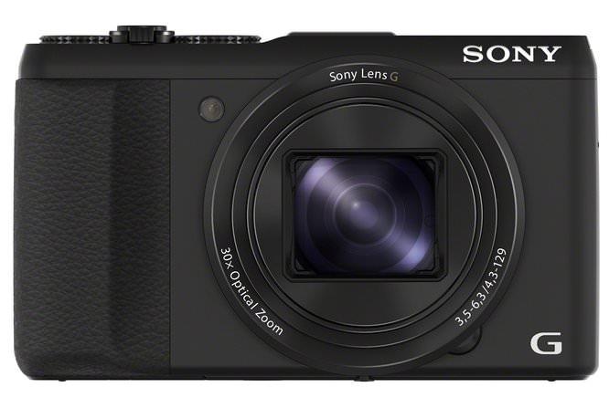 DSC HX50V 50 Black Front Copy (1)