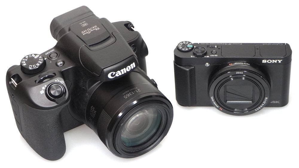 Canon Powershot Sx70 Hs Sony Cyber Shot Hx99 Side By Side