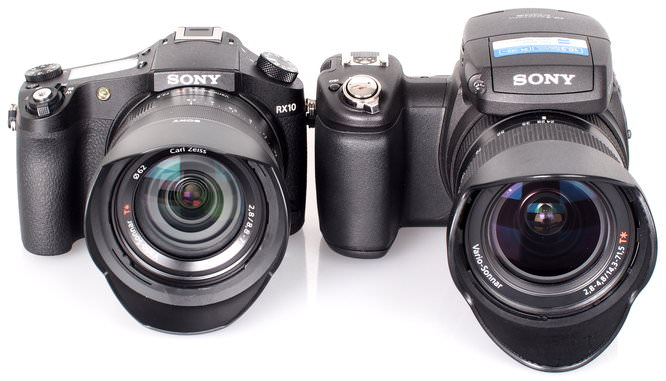 Sony Cyber Shot RX10 Vs Sony Cyber Shot R1 (2)