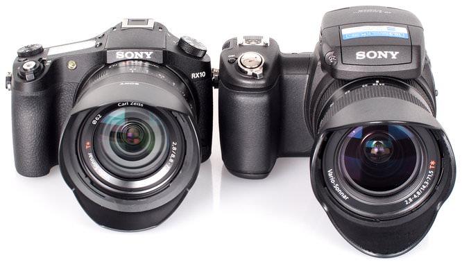 Sony Cyber Shot RX10 Vs Sony Cyber Shot R1 (2)
