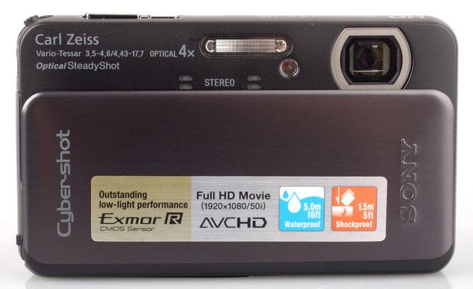 Sony Cyber Shot DSC TX20 Front On