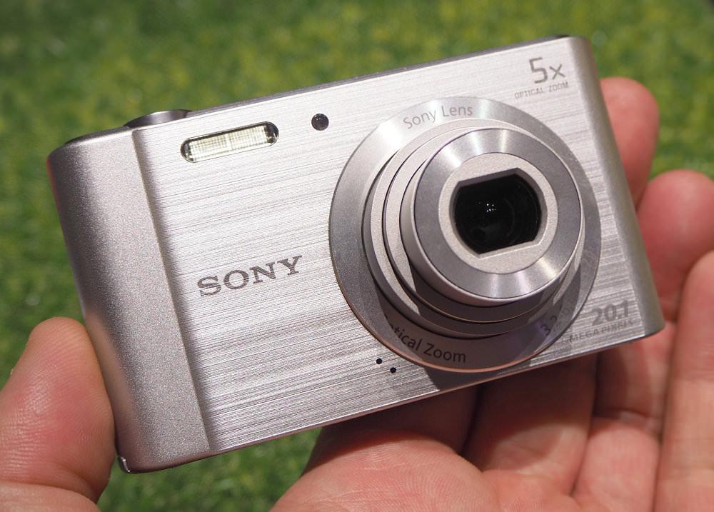Sony Cyber Shot W800 Silver (3)