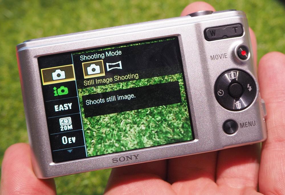 Sony Cyber Shot W800 Silver (5)