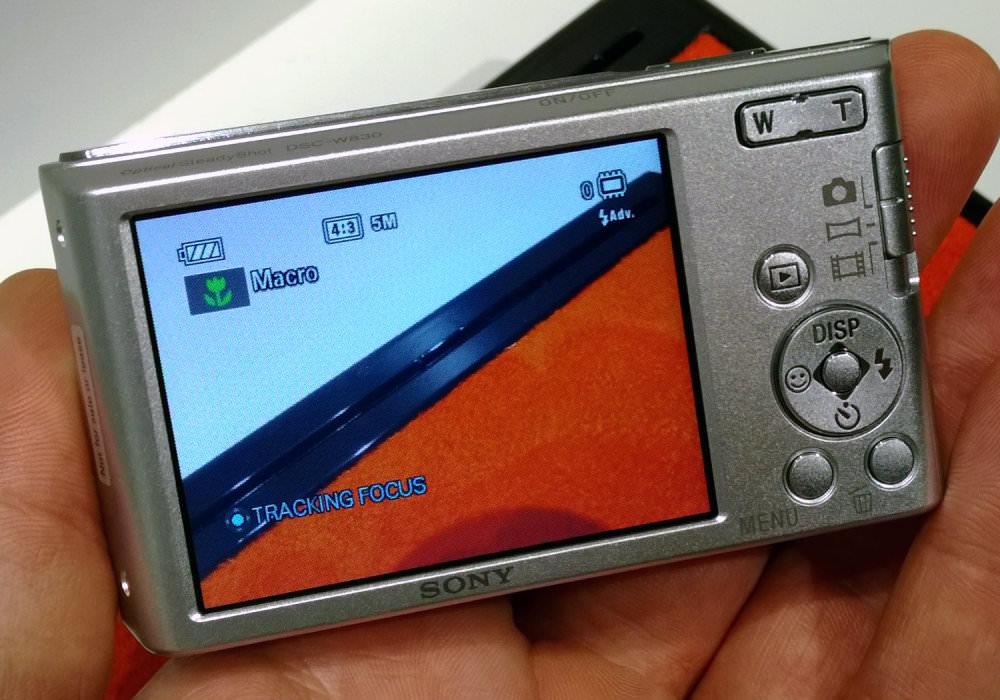 Sony Cyber Shot DSC W830 Silver (5)