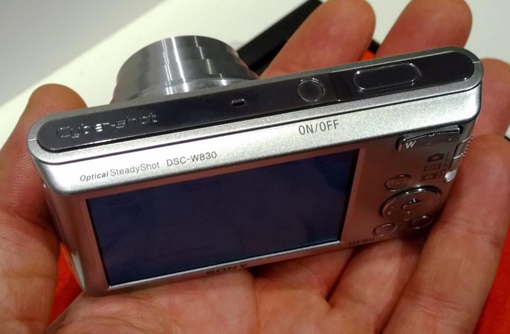 Sony Cyber Shot DSC W830 Silver (6)