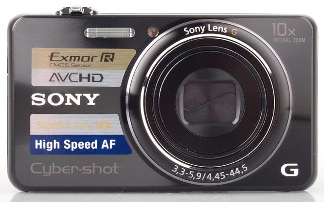 Sony Cyber Shot DSC WX100 Front Off