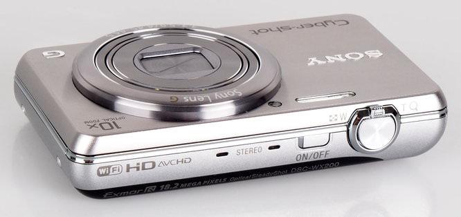 Sony Cyber Shot Wx200 Silver (4)