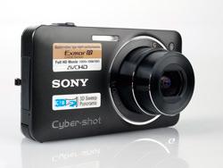 Sony Cybershot DMC-WX5 front lens