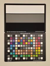 Sony Cybershot DMC-WX5 Test chart ISO200