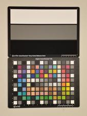 Sony Cybershot DMC-WX5 Test chart ISO400