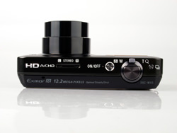 Sony Cybershot DMC-WX5 top
