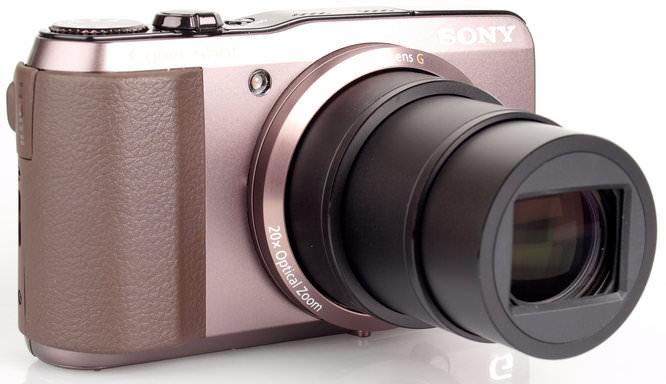 Sony Cybershot DSC-HX20V Lens Extended
