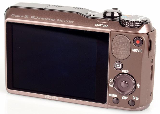 Sony Cybershot DSC-HX20V Rear