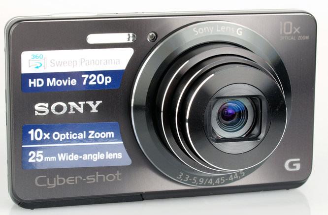 Sony Cybershot Dsc W690 Front 1