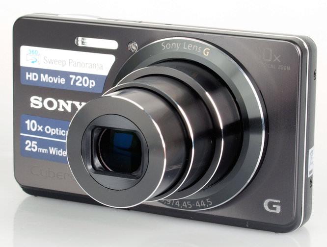 Sony Cybershot Dsc W690 Front 3