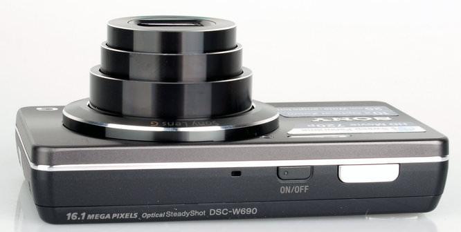 Sony Cybershot Dsc W690 Top 1
