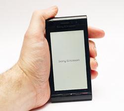 Sony Ericsson Satio phone