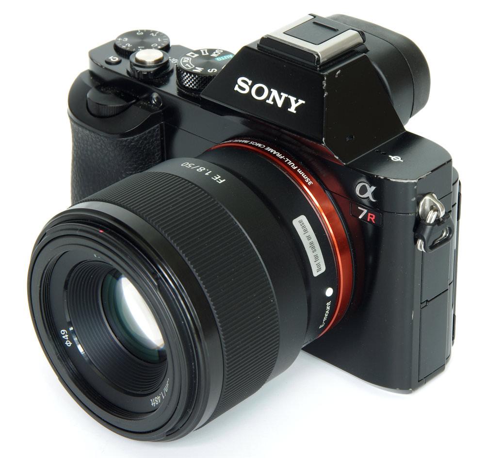 Sony Fe 50mm F1,8 On A7r