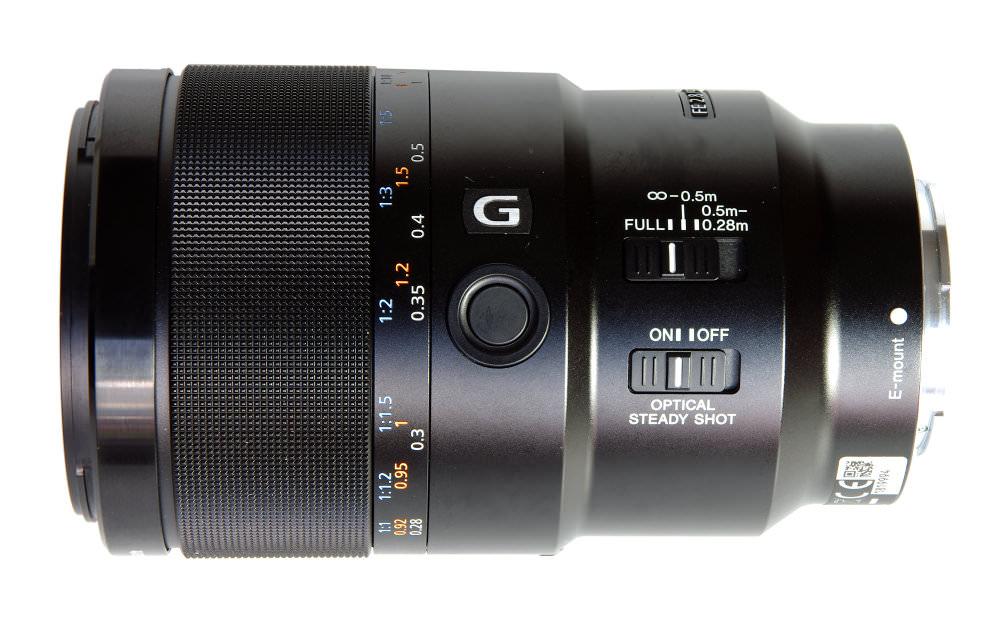 Sony 90mm Macro Side View